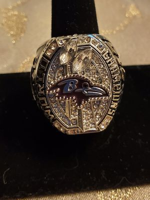 Ravens world Championship ring size 11 for Sale in Akron, OH