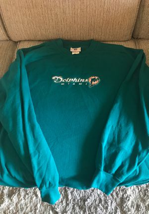 Miami Dolphins sweatshirt (old logo) for Sale in Palm Beach Gardens, FL