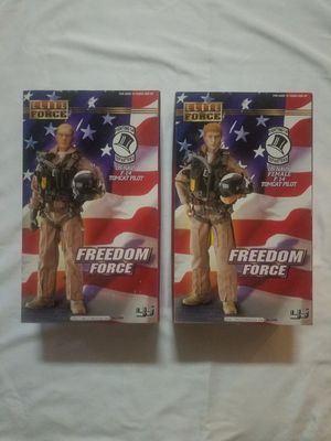 Elite Force Military Figures Combo Pack - US Navy F-14 Tomcat Pilots for Sale for sale  Gilbert, AZ