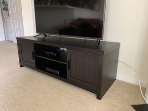 Black wooden TV Stand for Sale in Ashburn, VA