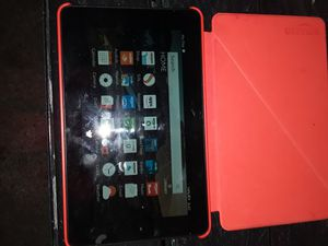 Amazon fire (5th generation) with case for Sale in Portland, OR