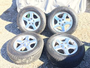 "2007 jeep Cherokee 17"" wheels & tires for Sale in San Fernando, CA"