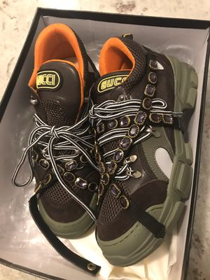 Gucci flashtrek sneaker with removable crystals for Sale in Baltimore, MD