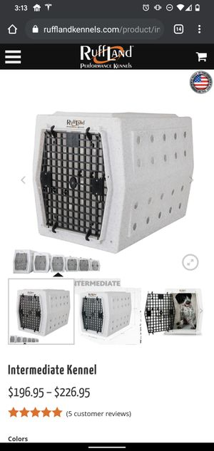 Ruff land dog kennel for Sale in San Leandro, CA