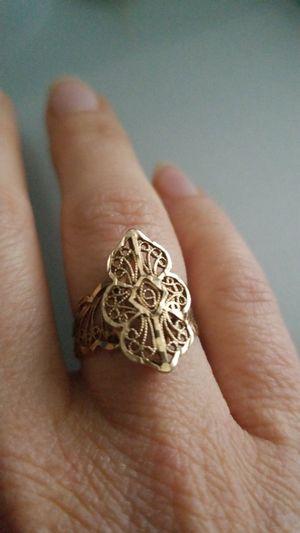 Delicate vintage filigree ring for Sale in Laurel, DE