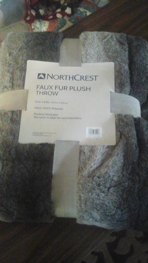 BRAND NEW FAUX FUR THROW for Sale in Spokane, WA