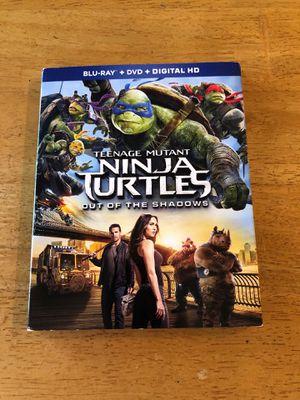 Teenage Mutant Ninja Turtles Out of the Shadows (Blu-Ray & DVD) for Sale in Perris, CA