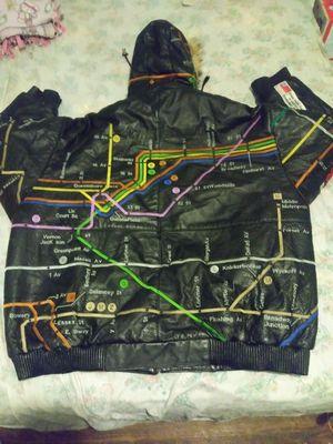 Leather coat for Sale in Detroit, MI