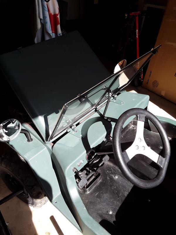 It's a 150cc mini jeep Thunderbird icebear