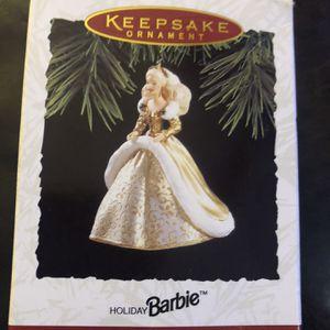 Hallmark Holiday Barbie Ornament for Sale in Oswego, IL