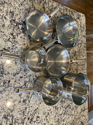 Calphalon Classic Stainless Steel 10 Piece Set for Sale in Atlanta, GA