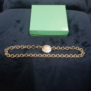 15 INCH (925 )TIFFANY & CO. WOMEN'S NECKLACE (GENTLY USED ()SILVER!)! for Sale in Delray Beach, FL