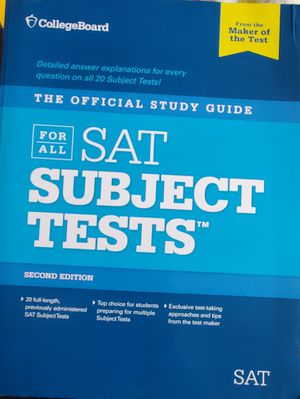 SAT Subject Tests for Sale in Arroyo Grande, CA