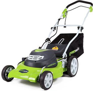Greenworks 20-Inch 3-in-1 12 Amp Electric Corded Lawn Mower 25022 for Sale in Smyrna, TN