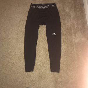 Adidas unisex black leggings (M) for Sale in Newark, DE