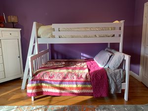 White Wood Bunkbeds for Sale in Great Falls, VA