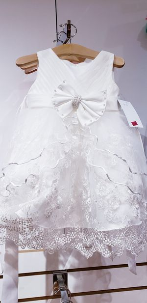 Church christening baptizing wedding dress for Sale in Mary Esther, FL