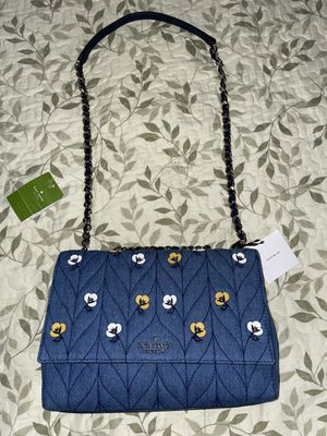 Kate Spade New York Quilted Denim Shoulder Bag for Sale in New York, NY