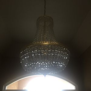 Crystal chandelier for Sale in Tulare, CA