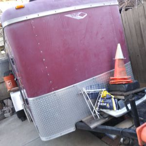 Cargo Trailer Has Enclosed Don't Need It No Longer I'm Located In Manteca Ca 209-612-2060Adrian Traila Gardening for Sale in Manteca, CA