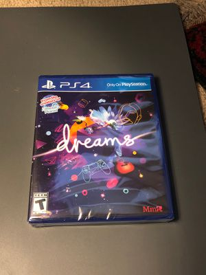 Dreams ps4 NEW sealed for Sale in Hayward, CA