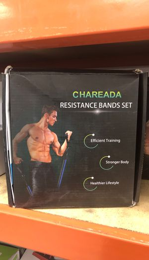 Chareada Resistance Band Set for Sale in Los Angeles, CA