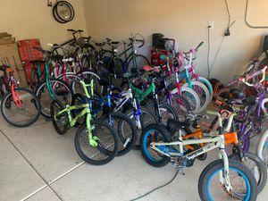 Mountain bike, bmx bike, road bike, beach cruiser bike for Sale in Glendale, AZ