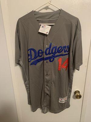 Enrique Hernandez #14 gray Los Angeles dodgers jersey for Sale in San Fernando, CA