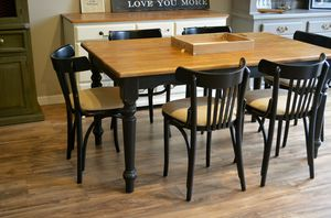 Farmhouse Black Dining Set for Sale in San Diego, CA