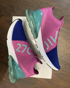 "NIKE AIR MAX 270 FLYKNIT ""FUCHSIA"" SZ 12 for Sale in Alexandria, VA"