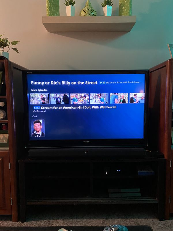 "50"" TV Toshiba"