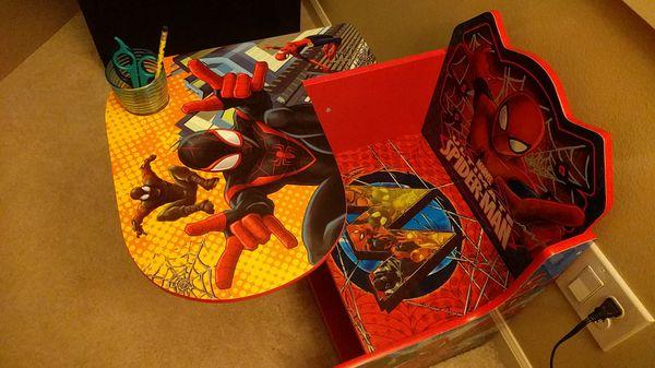 Spiderman activity table