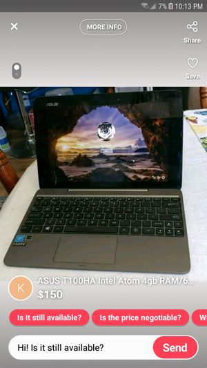 ***NEW*** Asus Intel atom convertible laptop! for Sale in Bowling Green, KY