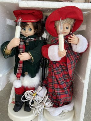 Lighted carolers for Sale in Wildomar, CA