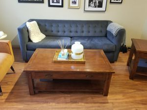 World Market coffee and end tables for Sale in Houston, TX