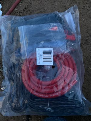 4 gauge wiring for amp for Sale in Odessa, TX