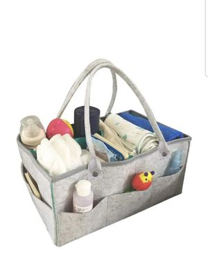 Basket Organizer: Portable Holder Bag for Changing Table and Car, Nursery Essentials Storage Bins Gifts for Newborn Contents not included*** for Sale in Seagoville, TX