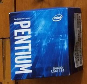 Intel Pentium G4400 Processor CPU brand new for Sale in Cambridge, MA