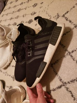 Adidas NMD Black/white men shoe/sneaker size 11 for Sale in Rancho Mirage, CA