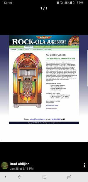 Brand new Rock Ola Cd Bubbler Jukebox for Sale in Detroit, MI