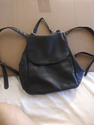 Forever 21 backpack leather black for Sale in Los Angeles, CA
