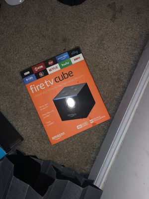 Fire tv Cube for Sale in Washington, DC