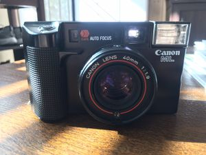 Canon AF35ML Film Camera 40mm f1.9 Excellent for Sale in San Diego, CA