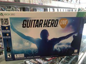 Guitar Hero Live Xbox 360 for Sale in Dearborn, MI