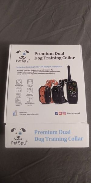 Used 2x PetSpy 2 Collar Premium Dual Dog Training for Sale in Homewood, IL