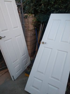 Interior double doors. 60 wide 79 tall for Sale in Simi Valley, CA
