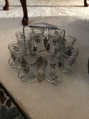 Antique Glass and Ice bowl set for Sale in Seneca, SC