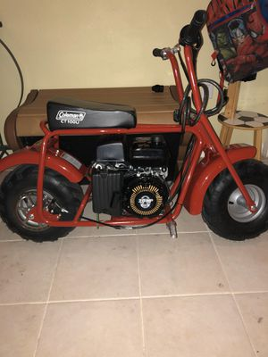 Coleman mini bike CT100U for Sale in Margate, FL