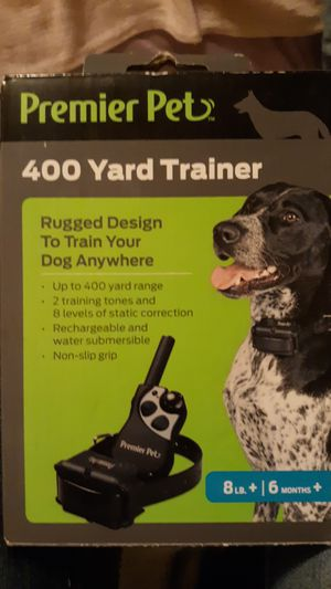 Premier Pet Static Trainer Collar for Sale in Snohomish, WA