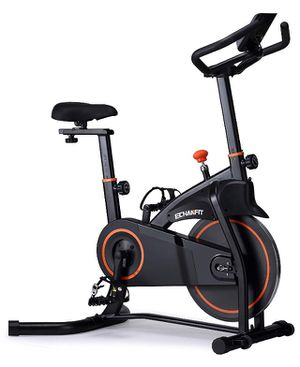 Brand new inside the box Indoor Exercise Bike Stationary Cycling with Quiet Smooth Belt Magnetic Resistance for Cardio Training Fitness at Home and S for Sale in Kent, WA